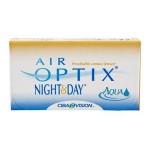 Opakowanie soczewek Air Optix Nihgt&Day Aqua.