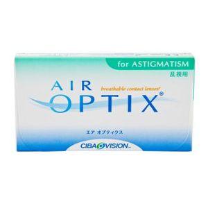 Opakowanie soczewek Air Optix for Astigmatism.