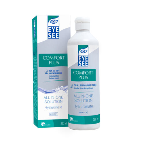 EYE SEE ALL-IN-ONE SOLUTION PLUS HYALURONATE 360 ML