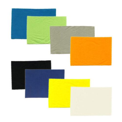 Ściereczka z mikrofazy - różne kolory 12x17cm - 1 opakowanie (50 szt.)