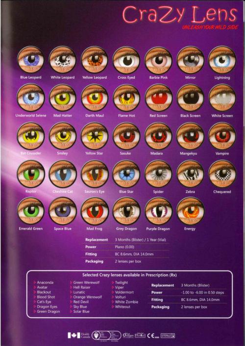 Crazy Lens Soczewki kontaktowe