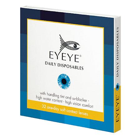 EYEYE Daily UV Jednodniowe soczewki kontaktowe z filtrem UV