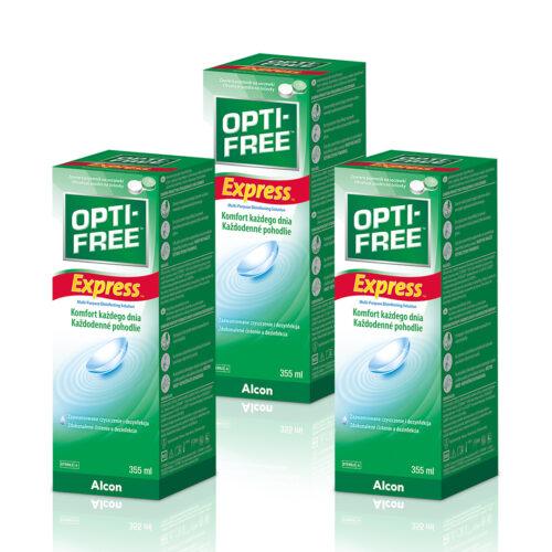 Zestaw: OPTI-FREE® Express® 3x355 ml