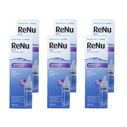 Zestaw: ReNu MPS 6x360 ml