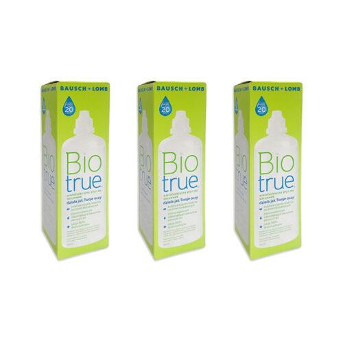 Zestaw: Biotrue 3x360 ml