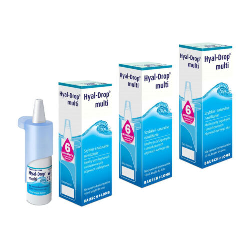 Zestaw: Hyal Drop Multi 3×10 ml