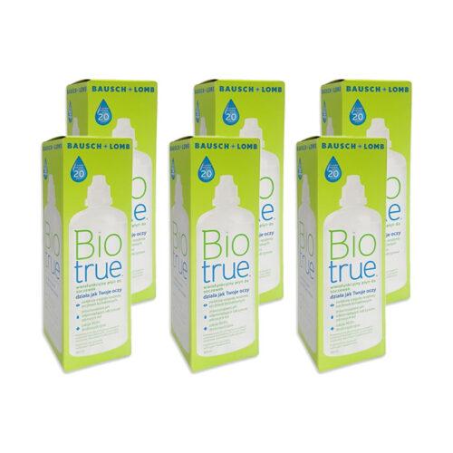 Zestaw: Biotrue 6x360 ml