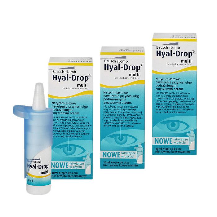 84335bd86208ee Zestaw: Hyal Drop Multi 3x10 ml - Hurtownia Optyczna Blick Punkt