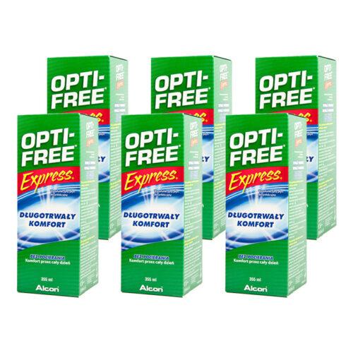 Zestaw: Opti-Free Express 6x355 ml