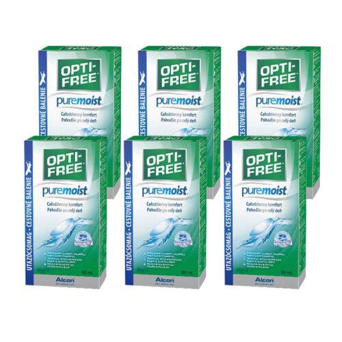Opti-Free PureMoist 90ml (6 szt.)