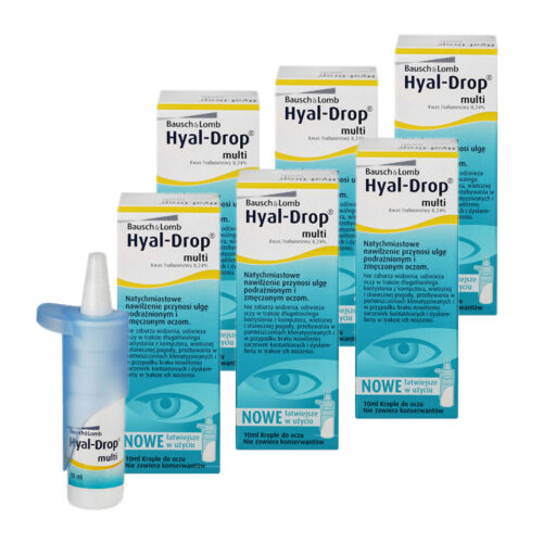 Zestaw: Hyal Drop Multi 6×10 ml