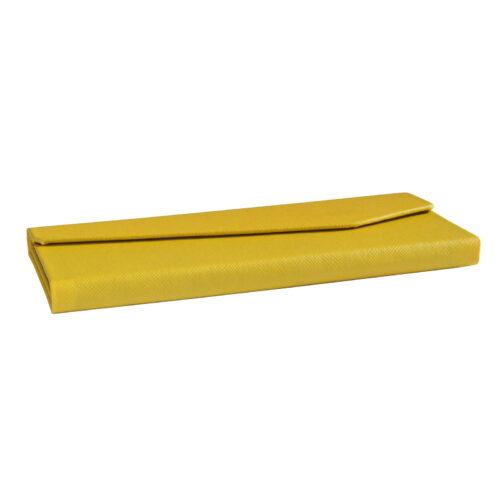 Futerał na okulary ELIZA żółty