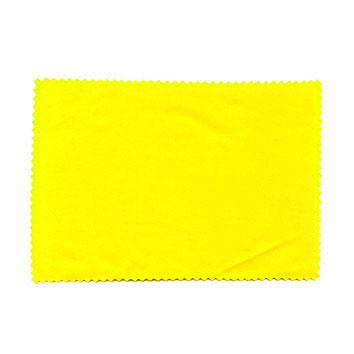 Ściereczka z mikrofazy 10x15cm - żółta