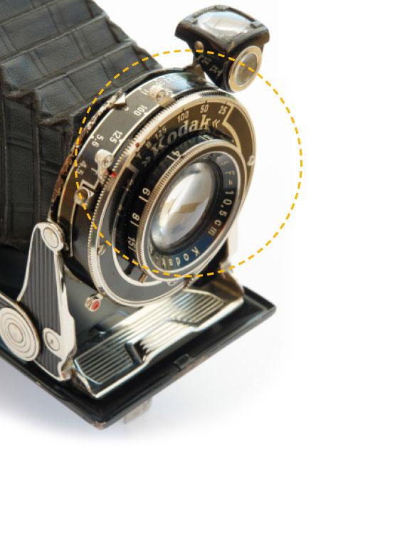 Kodak - Czarne i Złote Materiały - Aparat