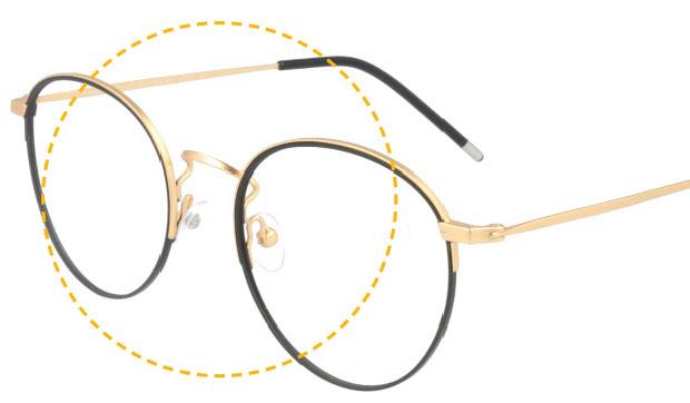 Kodak - Czarne i Złote Materiały - Okulary