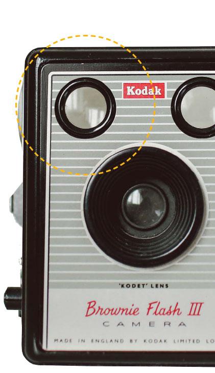 Kodak - Tip Hole obiektyw aparatu