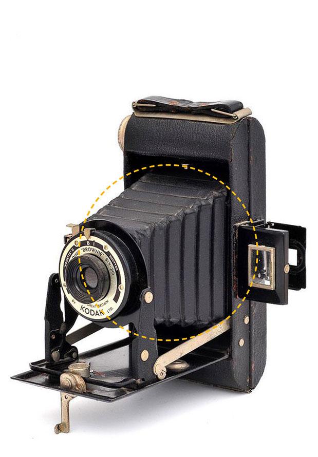 Kodak - składana kamera