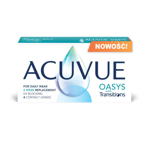Acuvue Oasys with Transitions 6 szt. - NOWOŚĆ