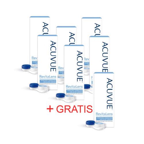 Zestaw: Acuvue RevitaLens 6x100 ml