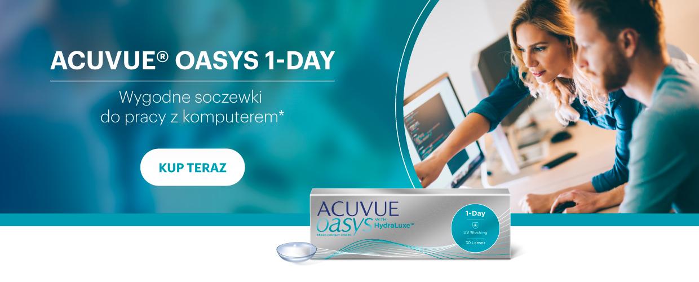 Odkryj świat na nowo z ACUVUE® OASYS 1-Day