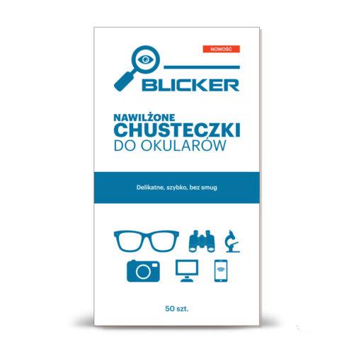 Chusteczki nawilżane do okularów Blicker 50 szt.