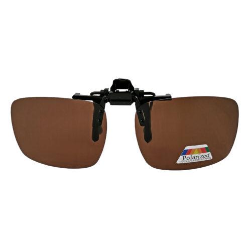 Nakładka przeciwsłoneczna na okulary, polaryzacyjna, z etui