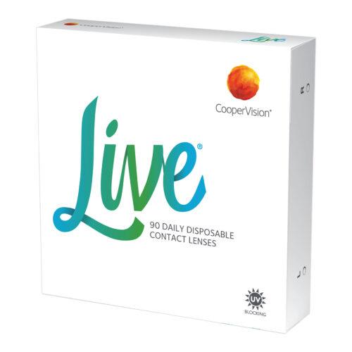 Live 90 szt. Soczewki Kontaktowe