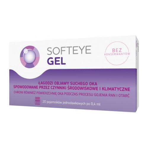 Softeye Gel żel do oczu 20 x 0,4 ml