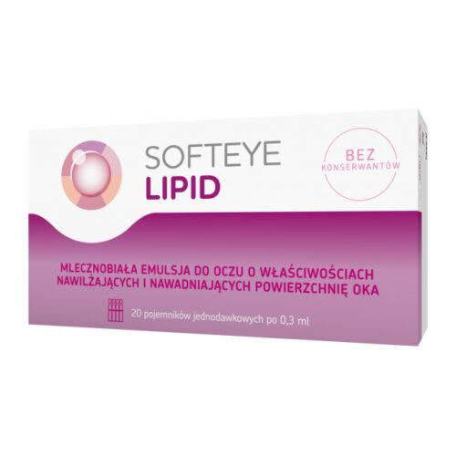 Softeye Lipid emulsja do oczu 20 x 0,3 ml