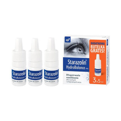 Starazolin HydroBalance PPH 5 ml krople do oczu 3 x 5 ml