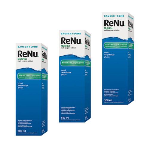 Zestaw: Renu Multiplus 3x500 ml