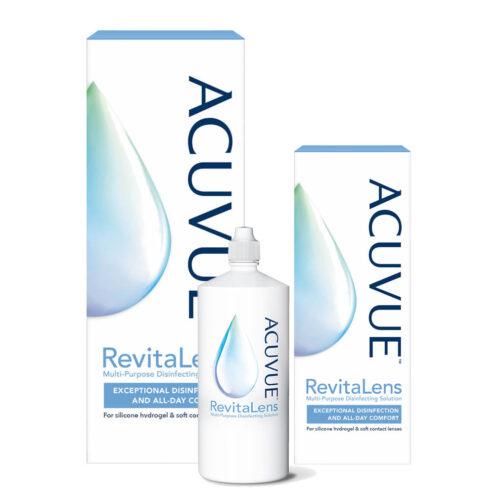 Zestaw: Acuvue RevitaLens 360 ml + 100 ml + 60 ml