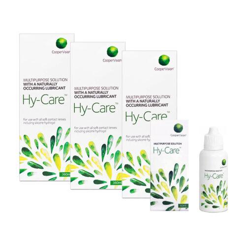 Zestaw: Hy-Care 3x360 ml + 60 ml