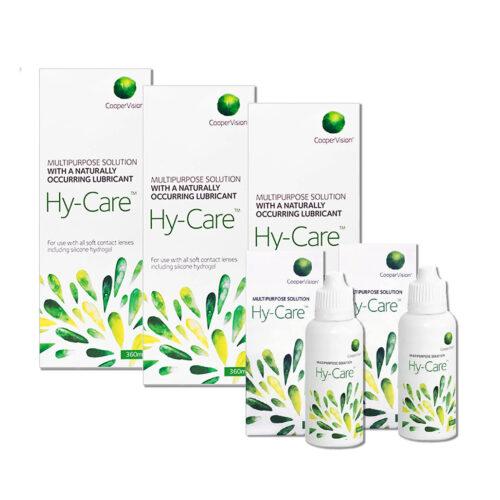 Zestaw: Hy-Care 3×360 ml + 2×60 ml