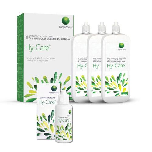Zestaw: Hy-Care 3×250 ml + 60 ml